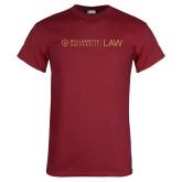 Cardinal T Shirt-LAW Flat Mark