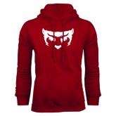 Cardinal Fleece Hood-Bearcat Face