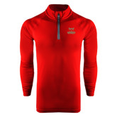 Under Armour Cardinal Tech 1/4 Zip Performance Shirt-Primary Logo