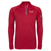 Under Armour Cardinal Tech 1/4 Zip Performance Shirt-Mascot