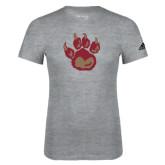 Adidas Sport Grey Logo T Shirt-Paw