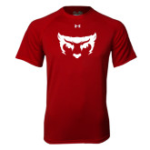 Under Armour Cardinal Tech Tee-Bearcat Face