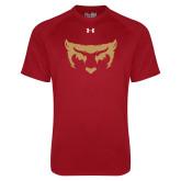 Under Armour Cardinal Tech Tee-Mascot