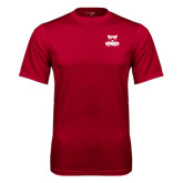 Syntrel Performance Cardinal Tee-Primary Logo