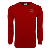 Cardinal Long Sleeve T Shirt-Primary Logo