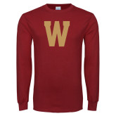 Cardinal Long Sleeve T Shirt-W