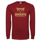 Cardinal Long Sleeve T Shirt-Basketball