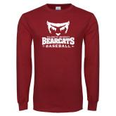 Cardinal Long Sleeve T Shirt-Baseball