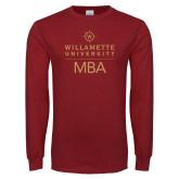 Cardinal Long Sleeve T Shirt-MBA