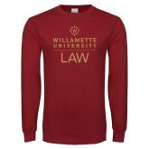Cardinal Long Sleeve T Shirt-LAW