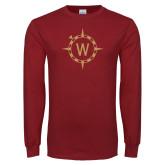 Cardinal Long Sleeve T Shirt-Icon Mark
