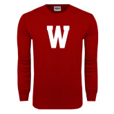 Cardinal Long Sleeve T Shirt-W