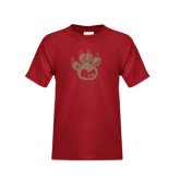Youth Cardinal T Shirt-Paw