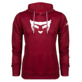 Adidas Climawarm Cardinal Team Issue Hoodie-Bearcat Face