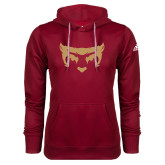 Adidas Climawarm Cardinal Team Issue Hoodie-Mascot