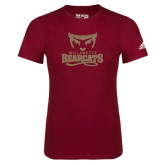 Adidas Cardinal Logo T Shirt-Primary Logo