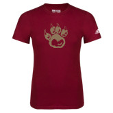 Adidas Cardinal Logo T Shirt-Paw