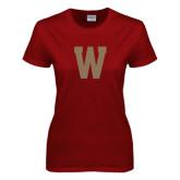 Ladies Cardinal T Shirt-W