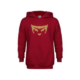 Youth Cardinal Fleece Hoodie-Mascot