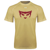 Under Armour Vegas Gold Tech Tee-Bearcat Face