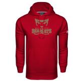 Under Armour Cardinal Performance Sweats Team Hoodie-Primary Logo