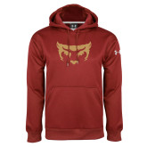 Under Armour Cardinal Performance Sweats Team Hoodie-Mascot