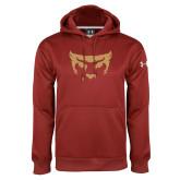 Under Armour Cardinal Performance Sweats Team Hoodie-Mascot