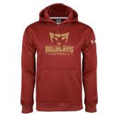 Under Armour Cardinal Performance Sweats Team Hoodie-Football