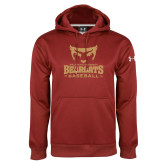 Under Armour Cardinal Performance Sweats Team Hoodie-Baseball