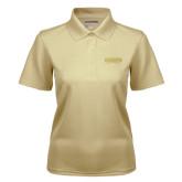 Ladies Vegas Gold Dry Mesh Polo-Wordmark