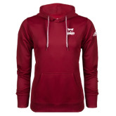Adidas Climawarm Cardinal Team Issue Hoodie-Primary Logo
