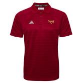 Adidas Climalite Cardinal Jacquard Select Polo-Mascot
