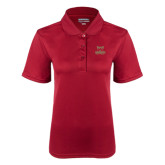 Ladies Cardinal Dry Mesh Polo-Primary Logo