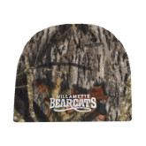 Mossy Oak Camo Fleece Beanie-Wordmark