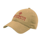 Vegas Gold Twill Unstructured Low Profile Hat-University Mark