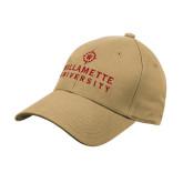 Vegas Gold Heavyweight Twill Pro Style Hat-University Mark