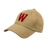 Vegas Gold Heavyweight Twill Pro Style Hat-W