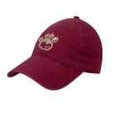 Cardinal Twill Unstructured Low Profile Hat-Paw