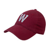 Cardinal Twill Unstructured Low Profile Hat-W