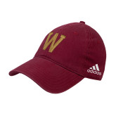 Adidas Cardinal Slouch Unstructured Low Profile Hat-W