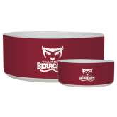 Ceramic Dog Bowl-Primary Logo