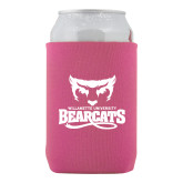 Collapsible Hot Pink Can Holder-Primary Mark