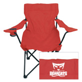 Deluxe Cardinal Captains Chair-Primary Logo