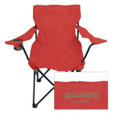 Deluxe Cardinal Captains Chair-Alumni