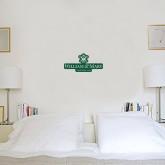 6 in x 1 ft Fan WallSkinz-Chartered Logo