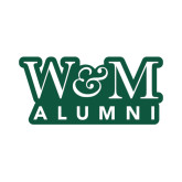 Alumni Decal-W&M Alumni, 6 inches wide