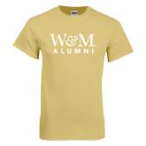 Champion Vegas Gold T Shirt-W&M Alumni
