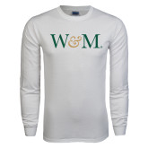 White Long Sleeve T Shirt-W&M