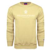 Champion Vegas Gold Fleece Crew-Chartered Logo