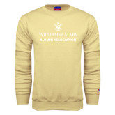 Champion Vegas Gold Fleece Crew-Alumni Association Stacked